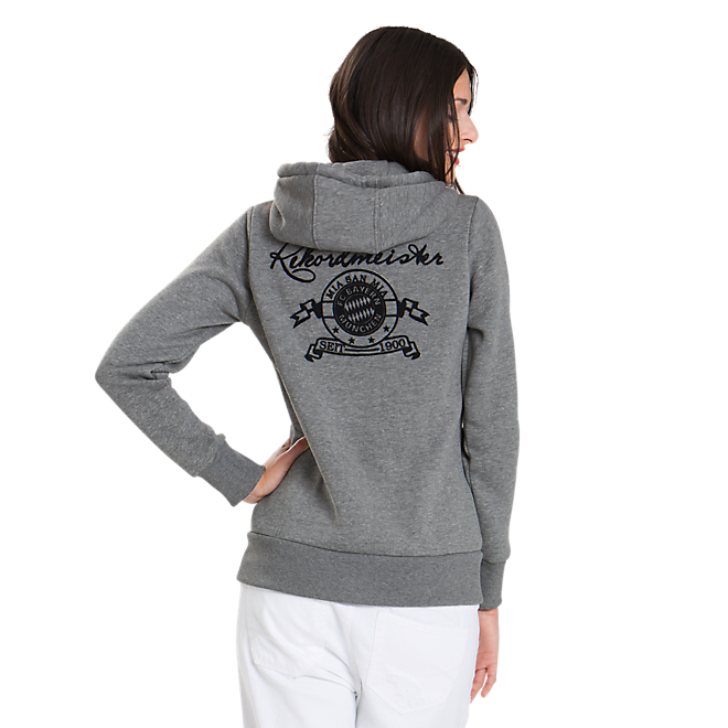 Ladies Zip-Up Hoodie Rekordmeister
