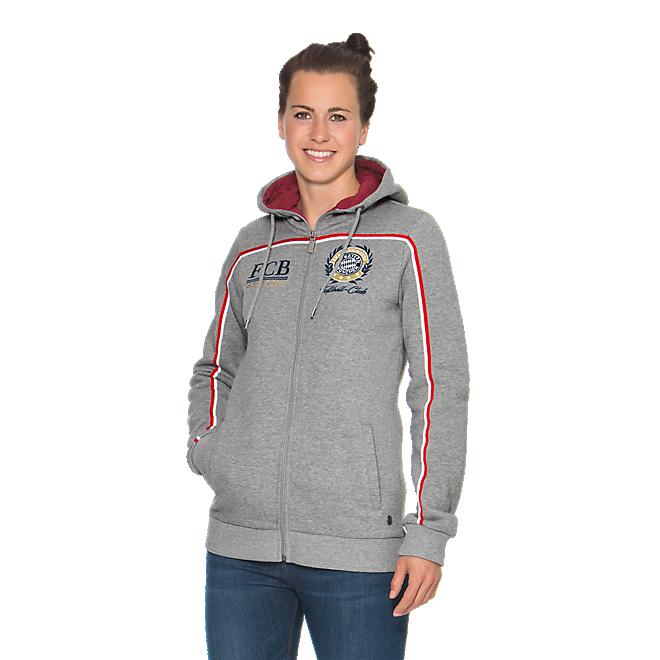 Damen Zip-Hoodie Rekordmeister