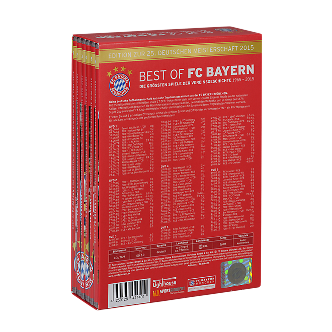 DVD Box - BEST OF FC BAYERN