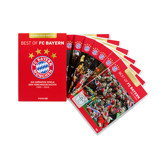 DVD-Box Best of FC Bayern