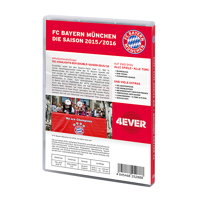DVD Saison 2015/16