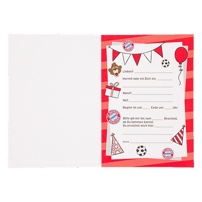 Invitation Cards Berni Set of 10