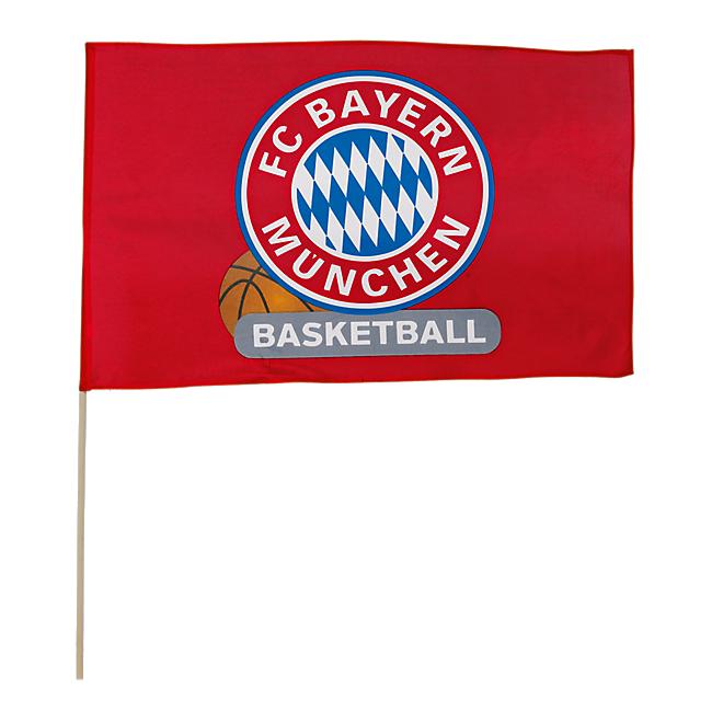 Flag Basketball 60x40 cm incl. stick