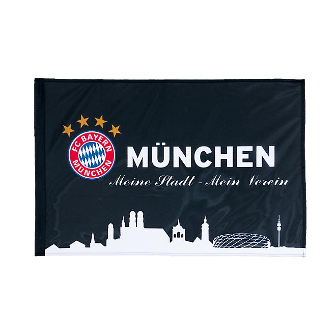 Fahne München schwarz 90 x 60 cm