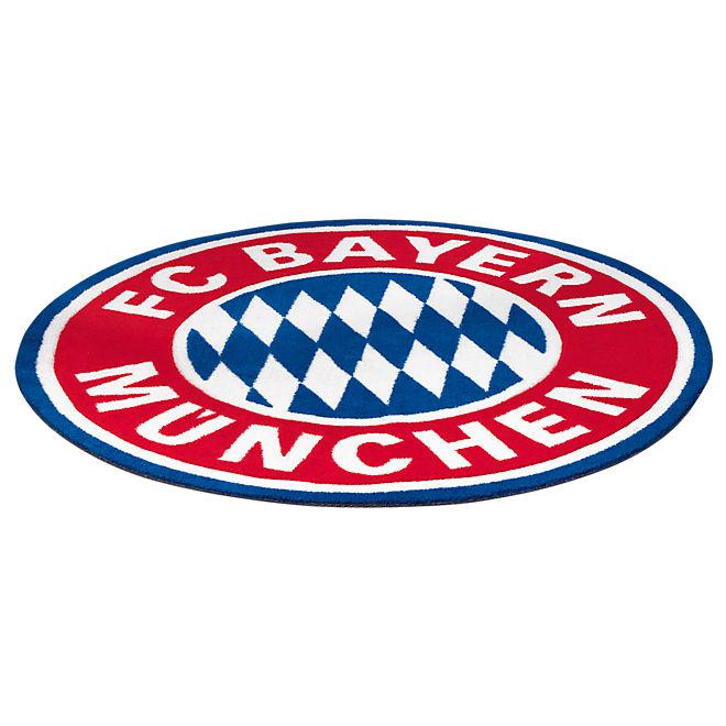 Fan Teppich Logo  Offizieller FC Bayern Fanshop