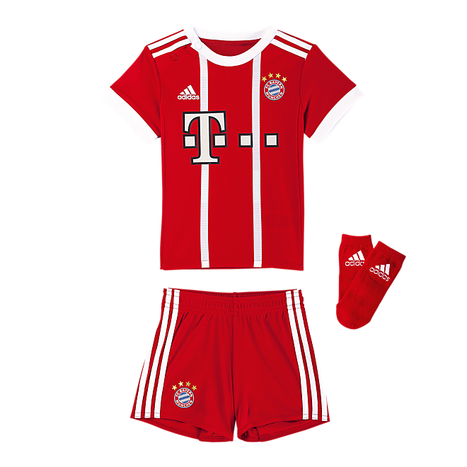 fc bayern baby kit home 17 18 offizieller fc bayern fanshop. Black Bedroom Furniture Sets. Home Design Ideas