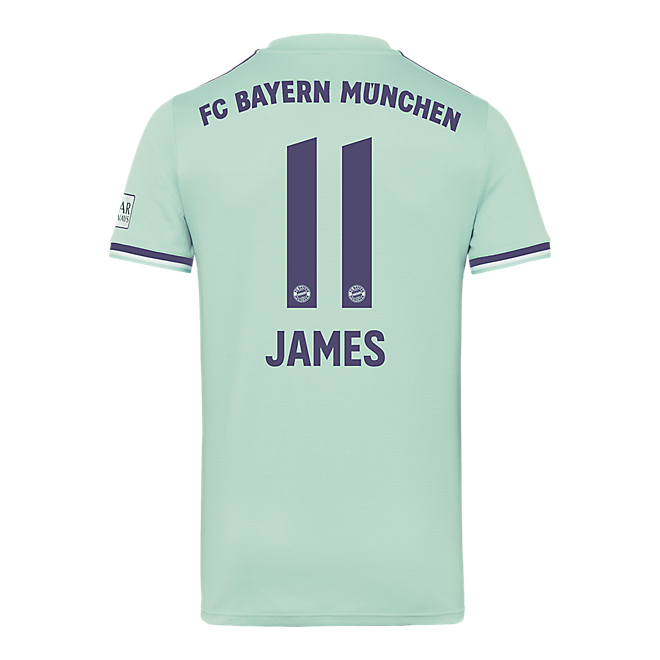 Camiseta de visitante para niño FC Bayern München 18/19