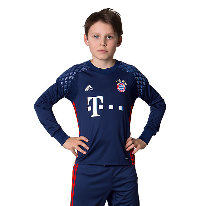 fc bayern kindertrikot torwart 2016 17 offizieller fc bayern fanshop. Black Bedroom Furniture Sets. Home Design Ideas