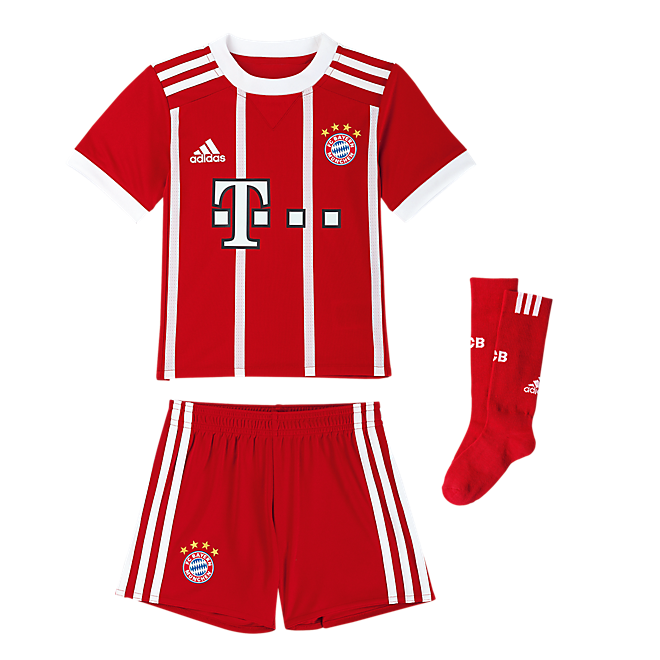 fc bayern mini kit home 17 18 official fc bayern online store. Black Bedroom Furniture Sets. Home Design Ideas