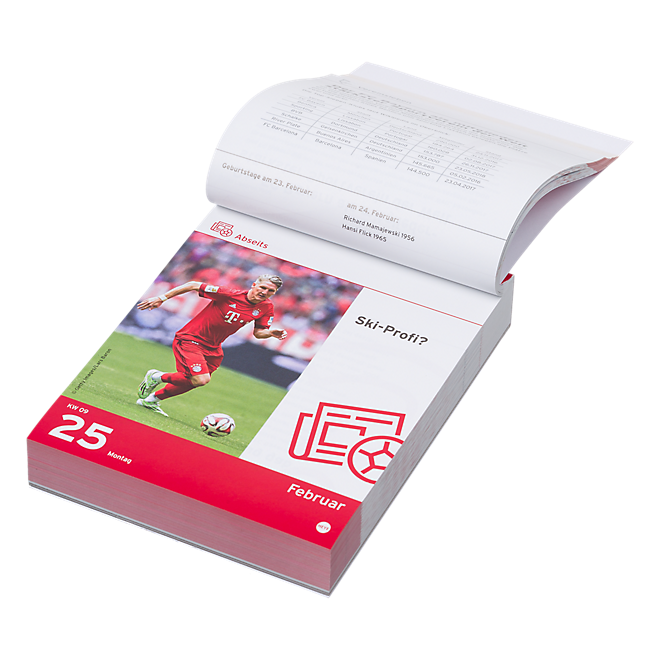 FC Bayern Tagesabreißkalender