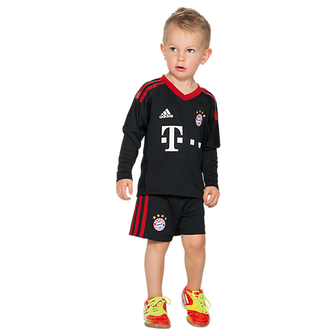 FC Bayern Goalkeeper Mini Kit 17/18