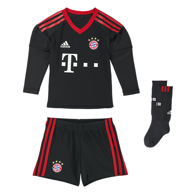 FC Bayern Goalkeeper Mini Kit 2017/18