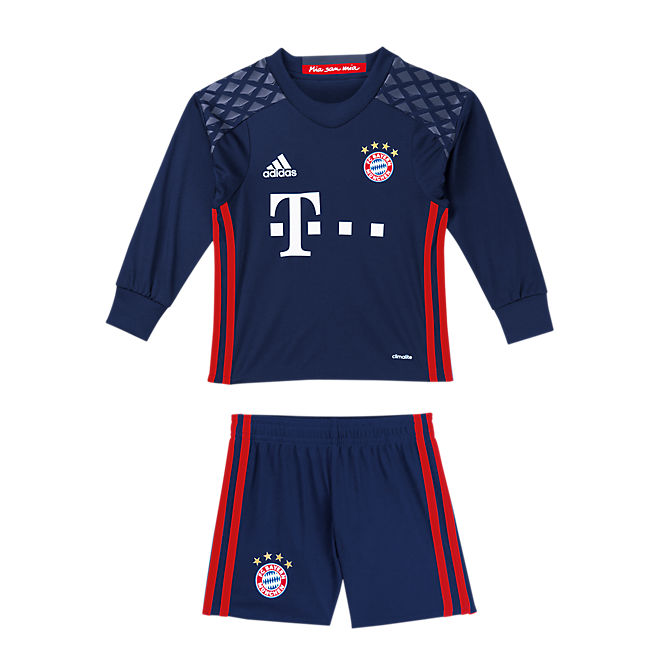 fc bayern torwart trikot mini kit offizieller fc bayern fanshop. Black Bedroom Furniture Sets. Home Design Ideas
