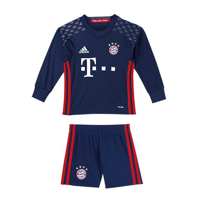 FC Bayern Goalkeeper Shirt - Mini Kit