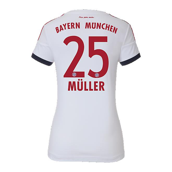 Fc Bayern Trikot Away Damen 201516 Offizieller Fc Bayern Fanshop