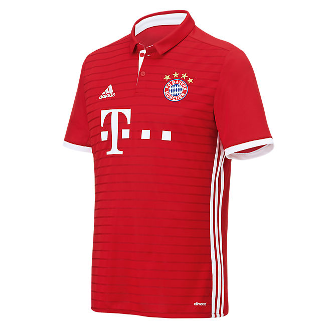 fc bayern trikot home 16 17 offizieller fc bayern fanshop. Black Bedroom Furniture Sets. Home Design Ideas
