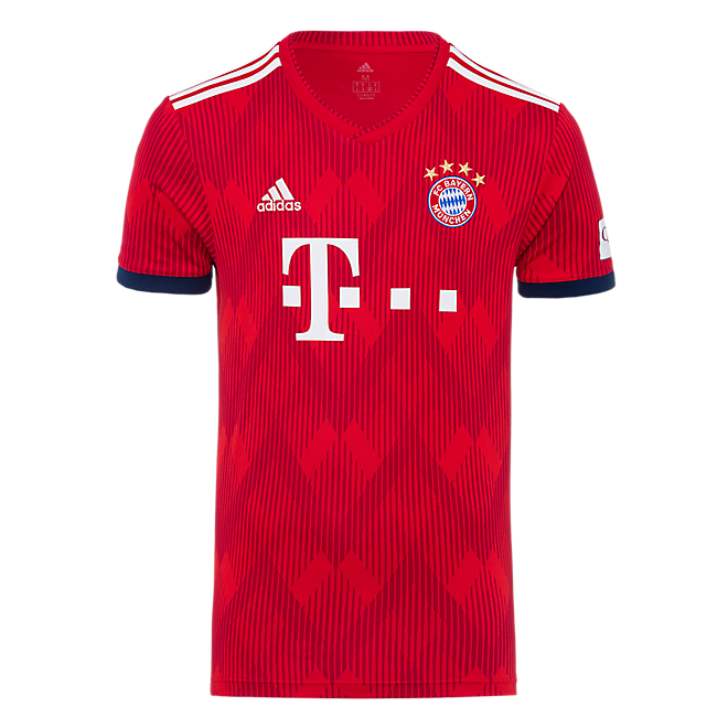 fc bayern trikot home 18 19 offizieller fc bayern fanshop. Black Bedroom Furniture Sets. Home Design Ideas