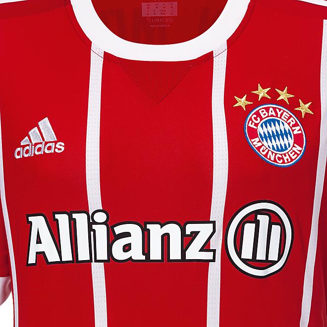 FC Bayern Shirt Home Women Soccer Allianz) 2017/18