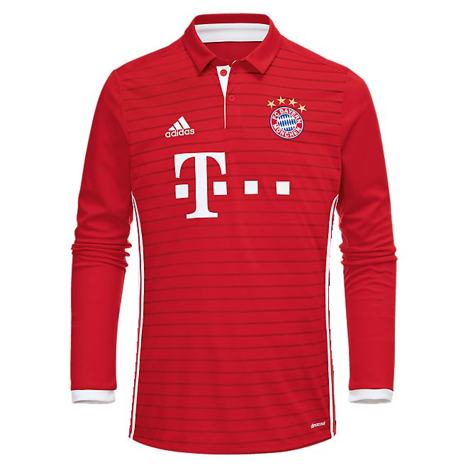 FC Bayern Shirt Home Longsleeve 16/17