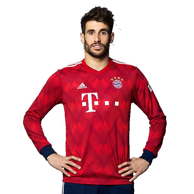 FC Bayern Trikot Home Langarm 18/19