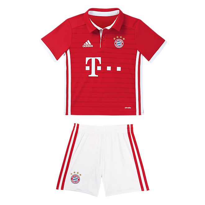 FC Bayern Home Shirt - Mini Kit