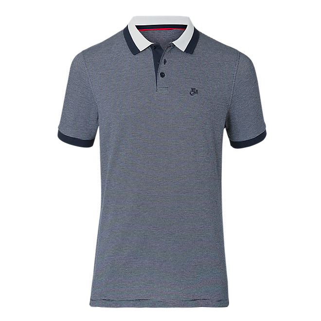FCB Polo navy/grey
