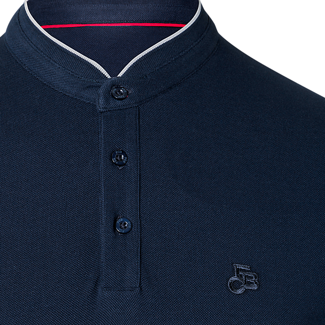 FCB Polo Banded Collar