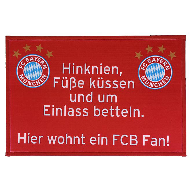 Doormat FCB Fan
