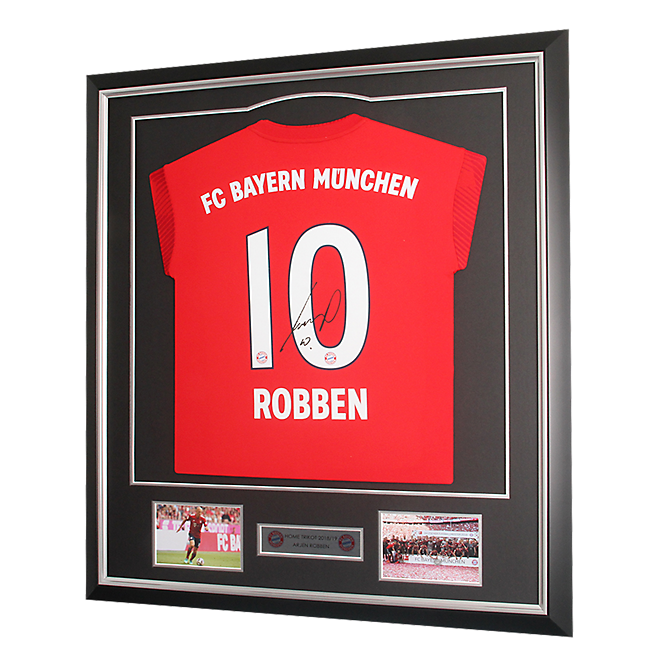 Framed Jersey Robben