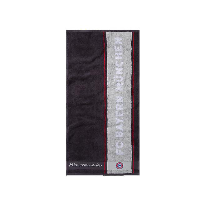 Towel anthracite 100 x 50cm