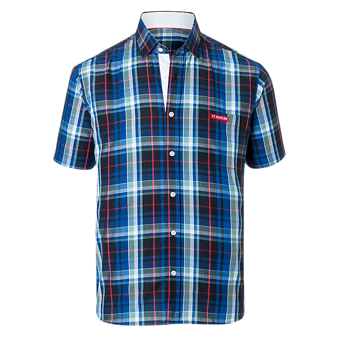 Shirt Plaid short sleeves