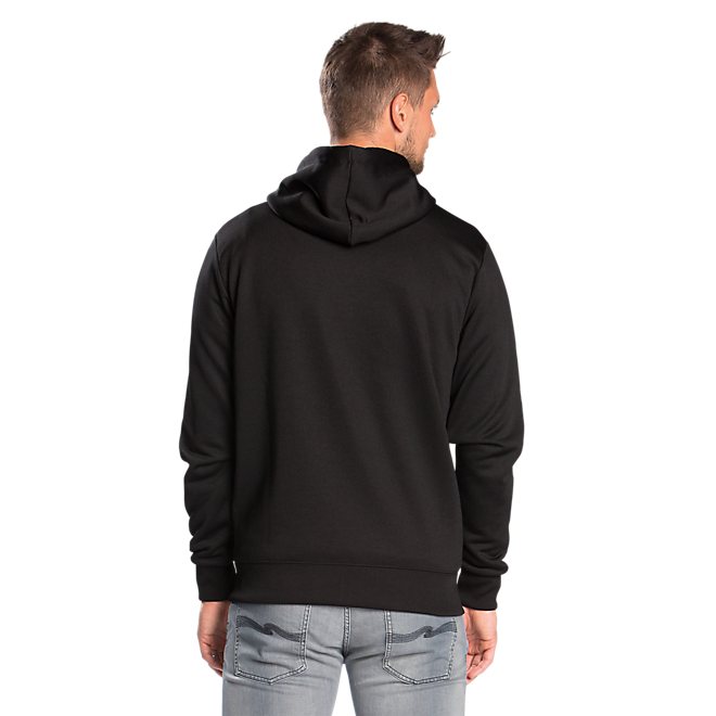 Hooded Track Top Black Sign