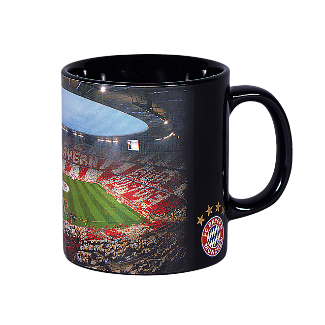 kaffeebecher allianz arena offizieller fc bayern fanshop. Black Bedroom Furniture Sets. Home Design Ideas