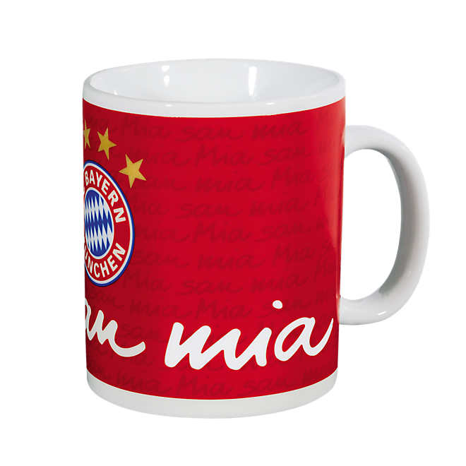 Kaffeebecher XXL Mia San Mia