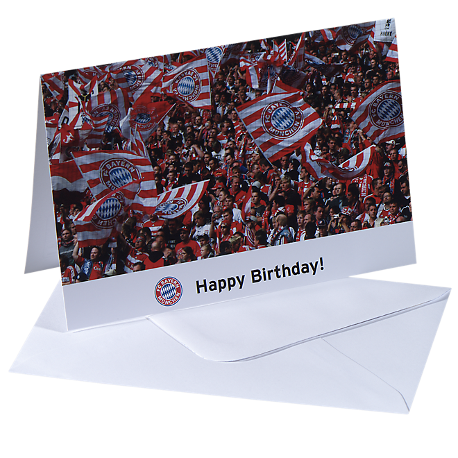 Card Happy Birthday (Fans)