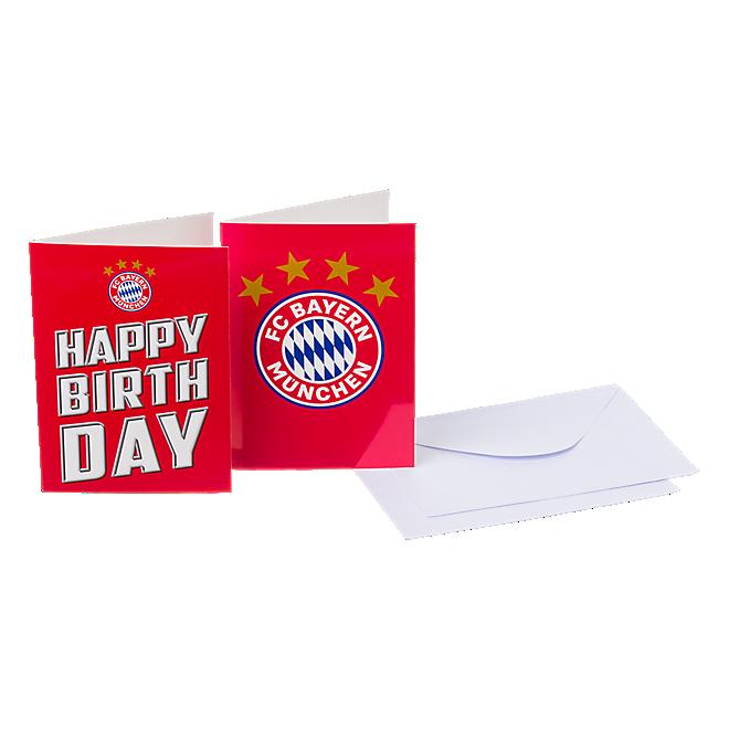 Karten-Set Happy Birthday/Logo