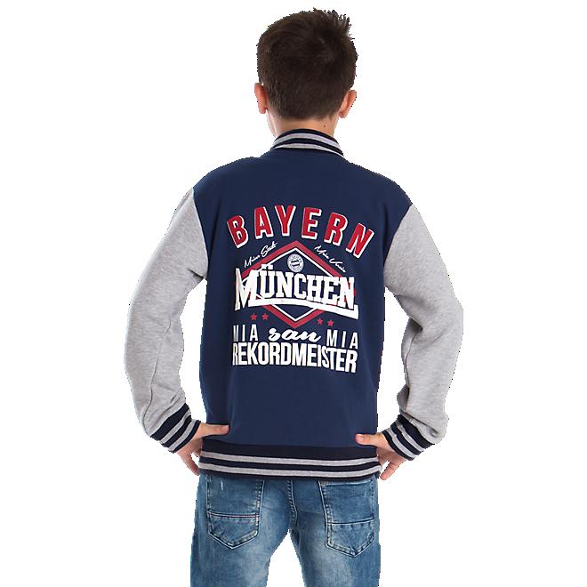 Kids Bayern München Varsity Jacket