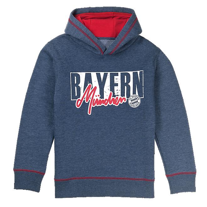 Kids Bayern Hoodie Used Look