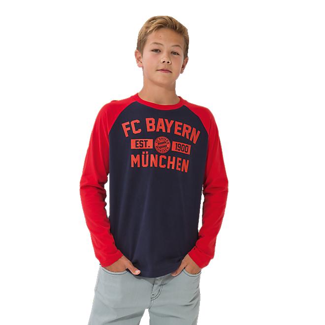 Longsleeve Kids FC Bayern 1900
