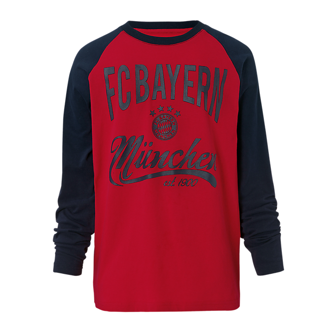 Kids FC Bayern Long Sleeve T-Shirt