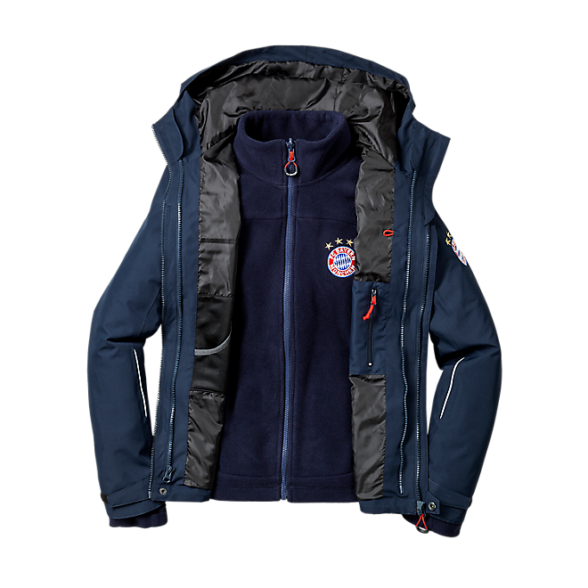 Kinder Outdoorjacke 2-in-1