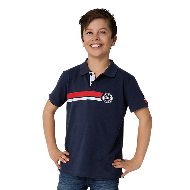 Kinder Poloshirt Stripes