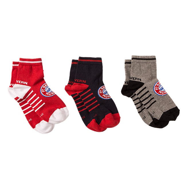 Sneaker socks kids Set of 3