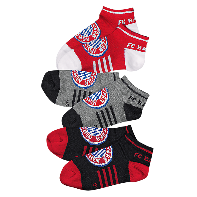 Kinder Sneakersocken 3er-Set