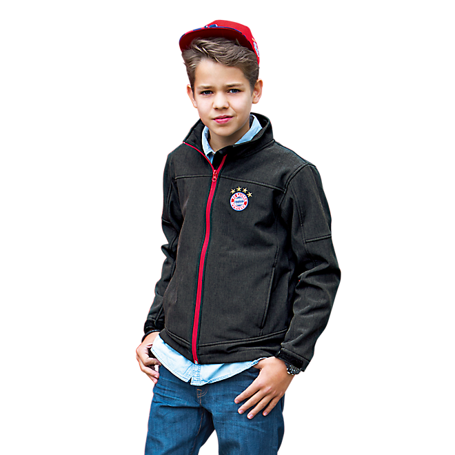 Softshell Jacket Kids anthracit