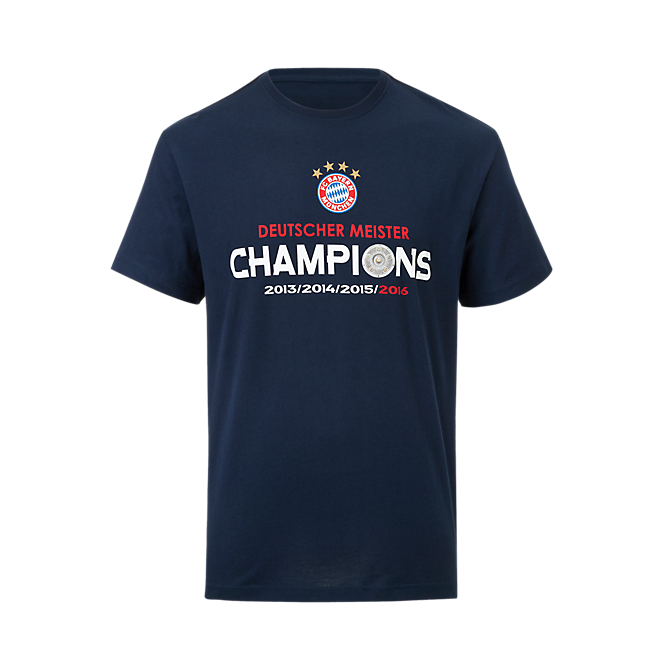 Kinder T-Shirt Deutscher Meister 2016