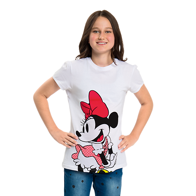 T-Shirt Kids Disney Minnie Mouse