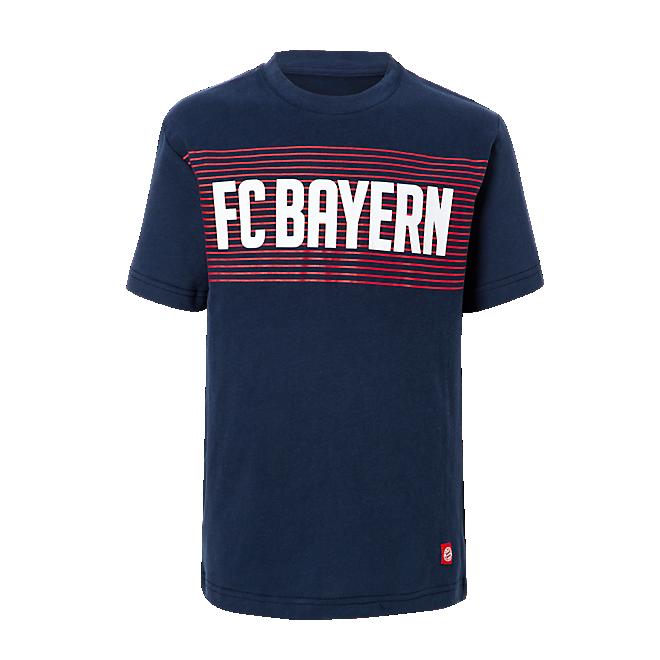 T-Shirt Kids FC Bayern navy