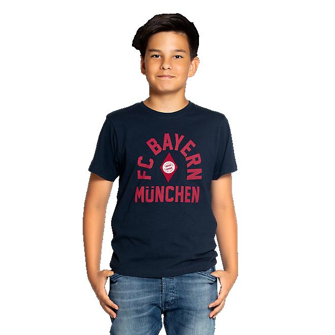 Camiseta rombo para niño