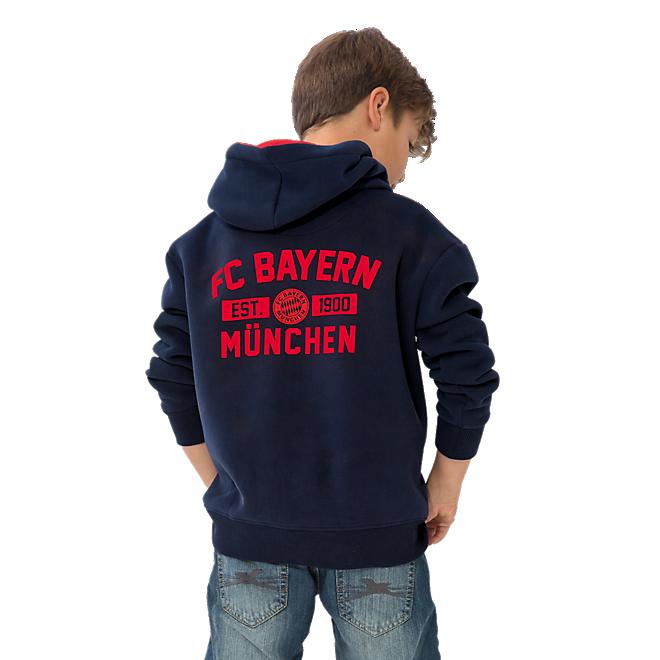 Kinder Zip-Hoodie FC Bayern 1900